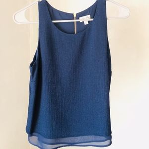 Maison Jules Dressy Layered-Look Tank Top